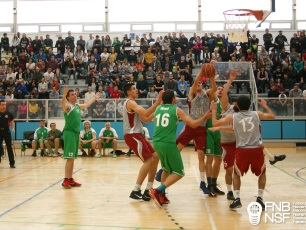 Final masculina entre CBASK y Oberena